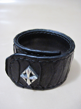 One Shot Smooth Leather Brace (Wide)