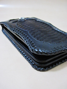 Snake Bit Over Flap Wallet Type Orochi